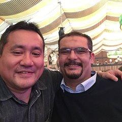 モハメドと筆者